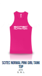 Scitec Normal Pink Tank Top (Girl)