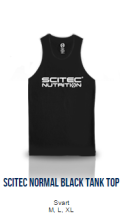 Scitec Normal Black Tank Top