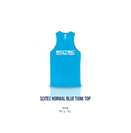 Scitec Normal Blue Tank Top