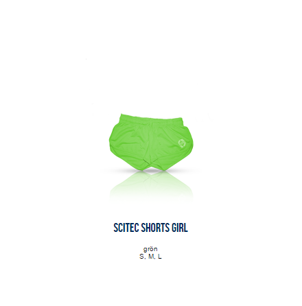 Scitec Shorts Girl (Grön)