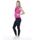 Women's Leggings Wien Black/Pink