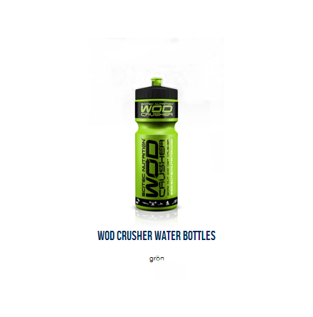 Wod Crusher Water Bottles