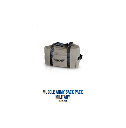 Muscle Army Back Pack Military