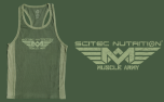 Muscle Army Tank Top (Woodland)